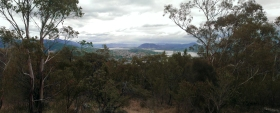 Hobart from the Mt. Nelson Signal Station, Tasmania
