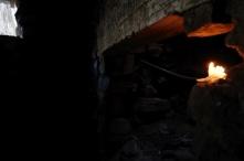 Inside Rock Cabin