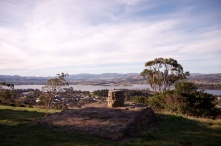 Panorama from the summit of Poimena Reserve