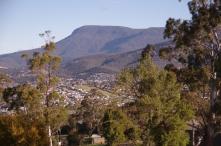 Mt Wellington from Poimena Reserve