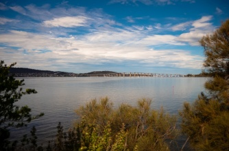 The Derwent River from Cornelian Bay