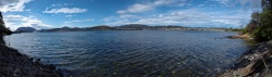 The Derwent River (south of Cornelian Bay)