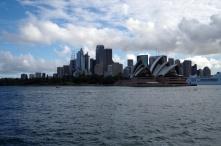 The Sydney CBD and Opera House