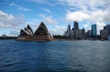 The Sydney CBD and Sydney Opera House