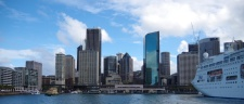 The Sydney CBD from Circular Quay