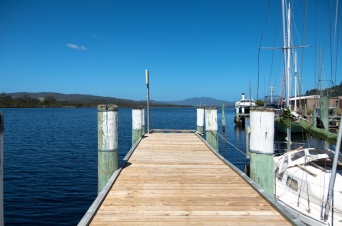 A jetty at Franklin